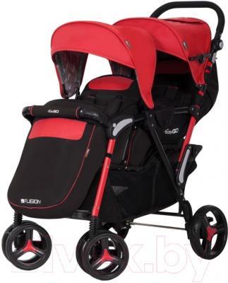 Детская прогулочная коляска EasyGo Fusion (Scarlet)