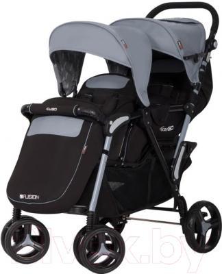 Детская прогулочная коляска EasyGo Fusion (Gray Fox)
