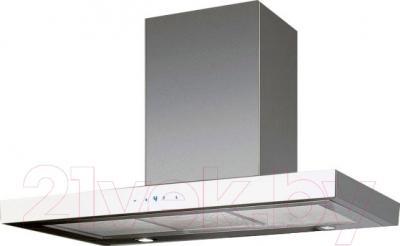 Вытяжка Т-образная Ciarko Quatro White Slim (90, нержавеющая сталь)