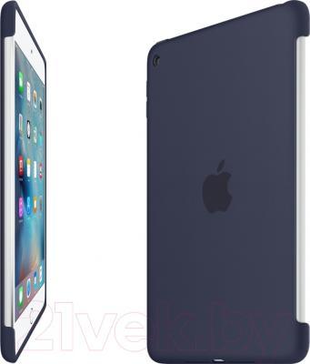 Бампер для планшета Apple Silicone Case MKLM2ZM/A (темно-синий)