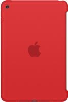 Бампер для планшета Apple Silicone Case MKLN2ZM/A (красный) -