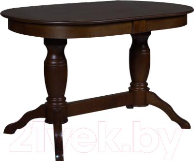 Обеденный стол Мебель-Класс Пан (темный дуб)