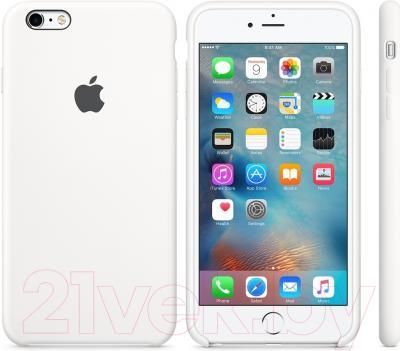 Чехол-бампер Apple MKXK2ZM/A (белый)
