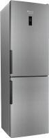 Холодильник с морозильником Hotpoint HF 6181 X -