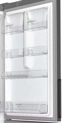 Холодильник с морозильником Hotpoint HF 6181 X