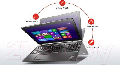 Ноутбук Lenovo ThinkPad Yoga 15 (20DQ001NRT)