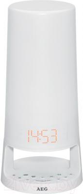 Световой будильник AEG MRC 4147 L (белый)