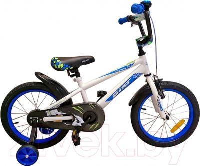 Детский велосипед Aist Pluto 976 (16, белый)