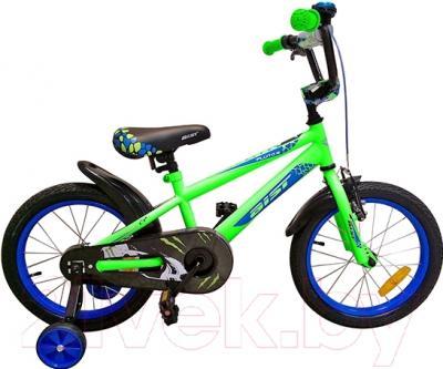 Детский велосипед Aist Pluto 905 (16, зеленый)
