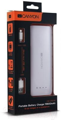 Портативное зарядное устройство Canyon CNE-CPB156W