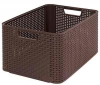 Корзина Curver Style L 03616-210-00 / 205850 (темно-коричневый) -