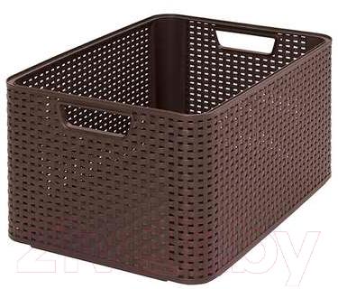 Корзина Curver Style L 03616-210-00 / 205850 (темно-коричневый)