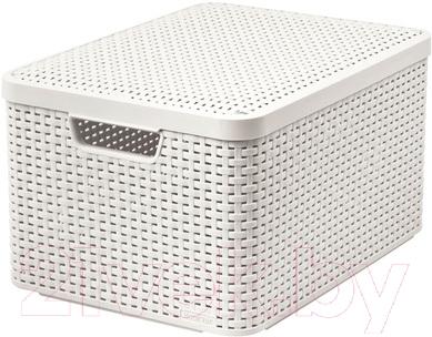 Ящик для хранения Curver Style L 03619-885-00 / 205862 (кремовый)
