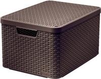 Ящик для хранения Curver Style L 03619-210-00 / 205861 (темно-коричневый) -