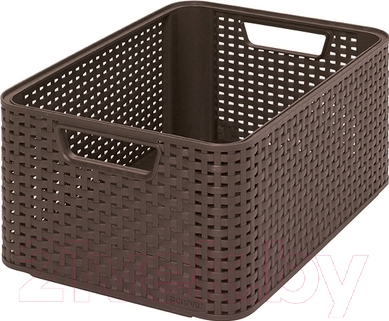 Корзина Curver Style M 03615-210-00 / 205844 (темно-коричневый)