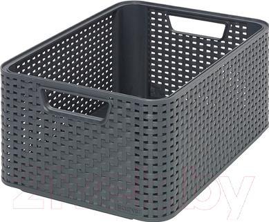 Корзина Curver Style M 03615-308-00 / 205846 (темно-серый)