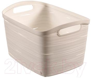 Корзина Curver Ribbon L 00719-X07-00 / 221154 (белый)