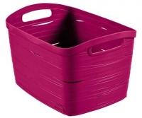 Корзина Curver Ribbon L 00719-437-00 / 221200 (фиолетовый) -