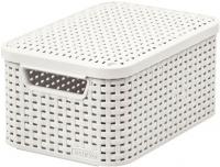 Ящик для хранения Curver Style S 03617-885-00 / 205840 (кремовый) -