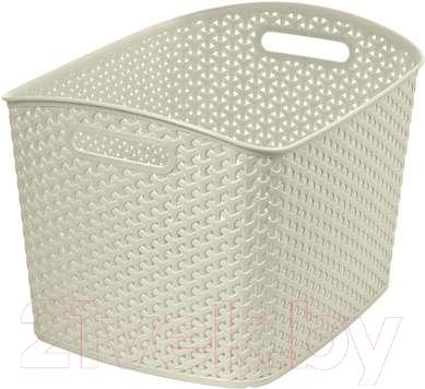 Корзина Curver My Style XL 03609-885-00 / 209490 (кремовый)