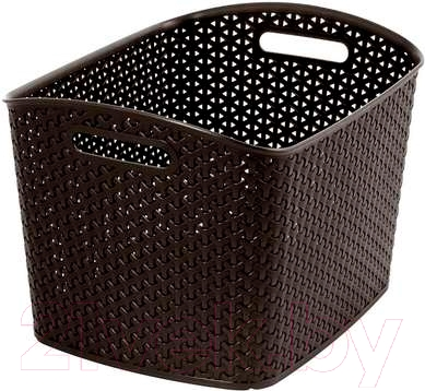 Корзина Curver My Style XL 03609-210-00 / 209489 (темно-коричневый)