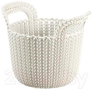 Корзина Curver Knit XS 03671-X64-00 / 226385 (белый)