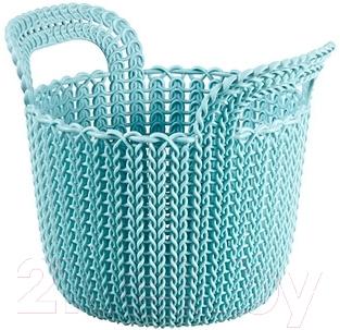 Корзина Curver Knit XS 03671-X60-00 / 226386 (синий)