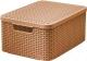 Ящик для хранения Curver Style M 03618-213-00 / 211543 (коричневый) -