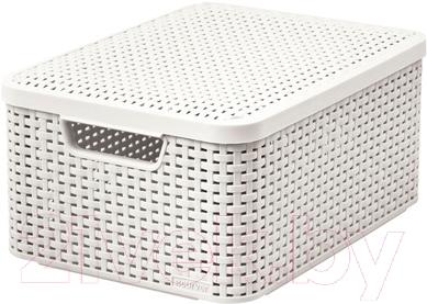 Ящик для хранения Curver Style M 03618-885-00 / 205848 (кремовый)