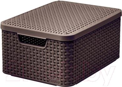 Ящик для хранения Curver Style M 03618-210-00 / 205847 (темно-коричневый)