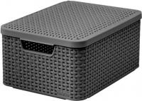 Ящик для хранения Curver Style M 03618-308-00 / 205849 (темно-серый) -