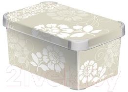 Ящик для хранения Curver Deco's Stoockholm S 04710-D64-00 / 183960 (Romance)