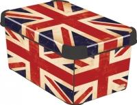 Ящик для хранения Curver Deco's Stoockholm S 04710-D99-00 / 197126 (British Flag) -