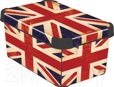 Ящик для хранения Curver Deco's Stoockholm S 04710-D99-00 / 197126 (British Flag)