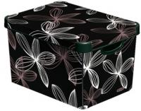 Ящик для хранения Curver Deco's Stoockholm L 04711-D66-05 / 188168 (Black Lily) -