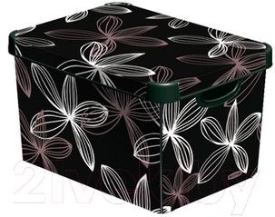 Ящик для хранения Curver Deco's Stoockholm L 04711-D66-05 / 188168 (Black Lily)