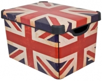 Ящик для хранения Curver Deco's Stoockholm L 04711-D99-05 / 213239 (British Flag) -