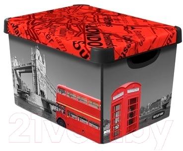 Ящик для хранения Curver Deco's Stoockholm L 04711-L08-05 / 213237 (London)