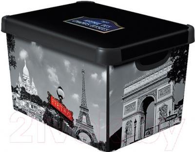 Ящик для хранения Curver Deco's Stoockholm L 04711-P35-05 / 213242 (Paris)