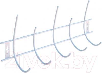Вешалка для одежды ПТФ Лиана ВМ-125 (белый)