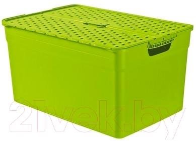 Ящик для хранения Curver Pixxel 03565-598-00 / 214864 (зеленый)