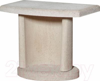 Боковой столик для барбекю Buschbeck Bside 2 (белый)