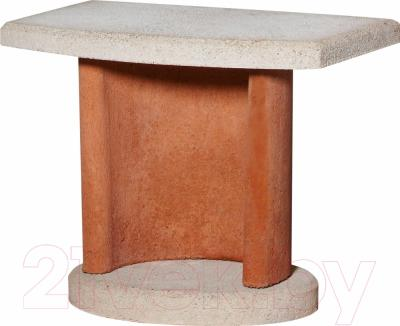 Боковой столик для барбекю Buschbeck Bside 1 (терракотовый)
