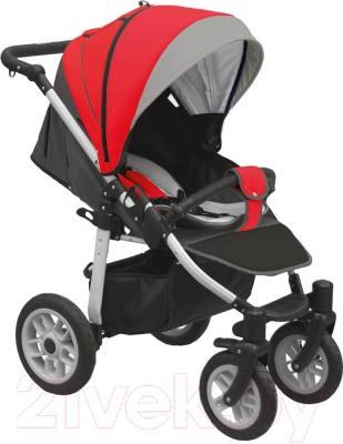 Детская прогулочная коляска Camarelo Eos (Е-07/красный)