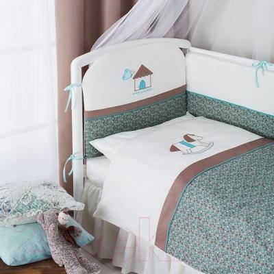 Комплект в кроватку Perina Жила-была Лошадка ЖБ4-01.4