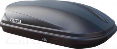 Автобокс Lux 390 360L 841801 (черный матовый) - вид сбоку