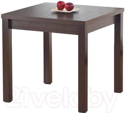 Обеденный стол Halmar Gracjan (темный орех)