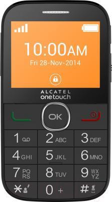 Мобильный телефон Alcatel One Touch 2004C (черный)