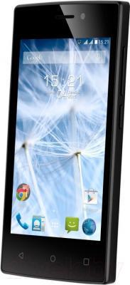 Смартфон Fly FS402 (черный)