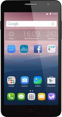Мобильный телефон Alcatel One Touch Soft Slate / 5022D (серебристый/золотой)